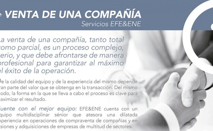 servicios de venta de una compañía