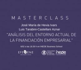 Le invitamos a la masterclass sobre Corporate Finance