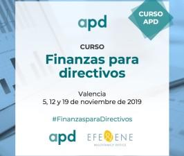 (Español) FINANZAS PARA DIRECTIVOS, VALENCIA NOVIEMBRE 2019