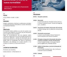 (Español) Covid-19: La financiación para afrontar el reto de la nueva normalidad.