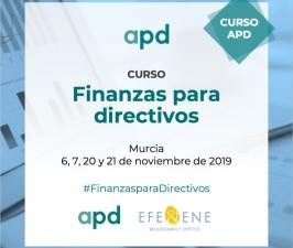 (Español) Murcia , noviembre 2019 , nueva edición del Curso de Finanzas para Directivos