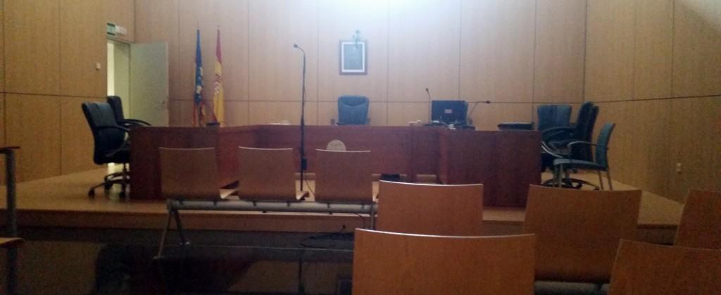 sala juicio verbal