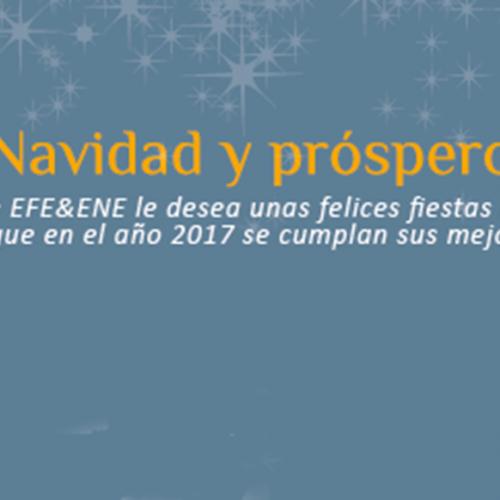 El equipo de EFE&ENE le desea Feliz Navidad